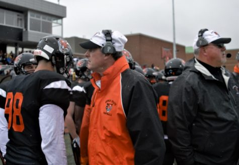 Athletic Director Jerry Boyes has stepped down as head coach of the football team.