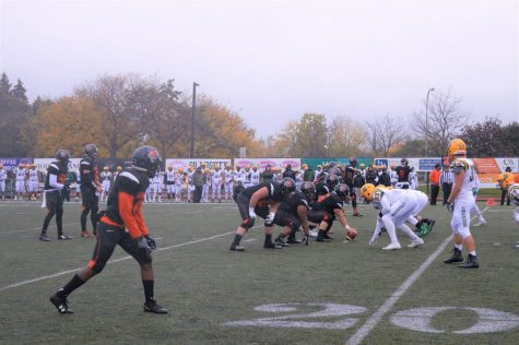 No. 11 Brockport blows out Football in I-90 Bowl, 33-0