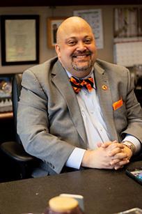 Vice President for Student Affairs Timothy Gordon