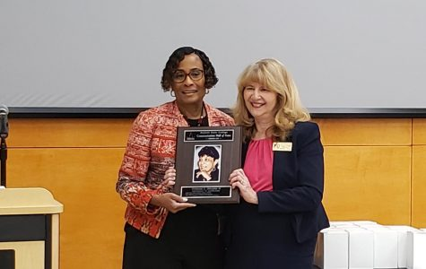 Frances L. Murphy inducted into Comm Department Hall of Fame