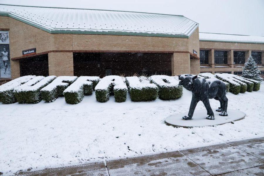 [PHOTO GALLERY] First Snowfall of the School Year