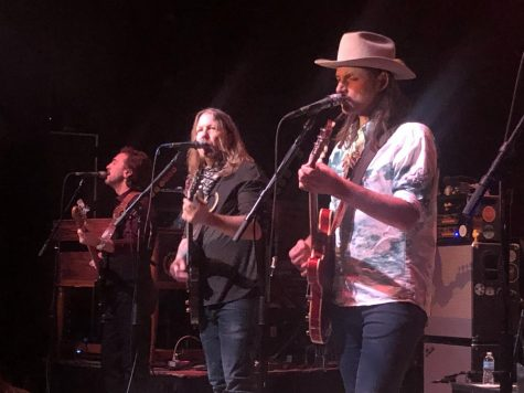 From left to right: Berry Oakley Jr., Devon Allman, and Duane Betts