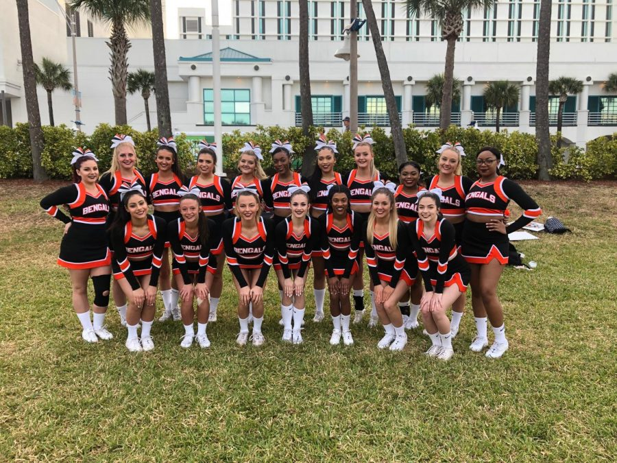 Buffalo State Cheerleading Team Going to Nationals