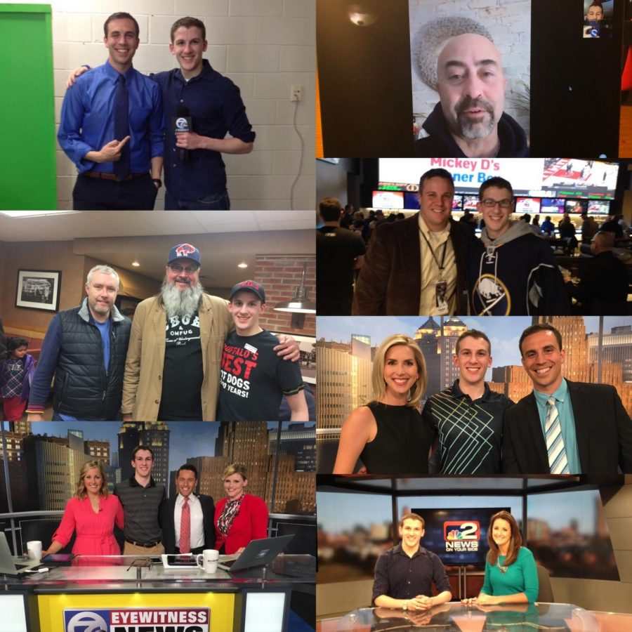 Top left: Matt Bové, Top right: Sal Capaccio,  Left middle: Mike Schopp and Chris Parker aka Bulldog,  Right second: Brian Koziol, Right third: Ashley Rowe and Matt Bové, Bottom left: Katie Morse and Ed Drantch,  Bottom right: Melissa Holmes