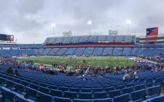 A partially full stadium from the Buffalo Bills game against the Detroit Lions on December 16, 2018.